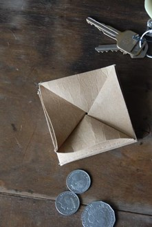 Paper Coin Wallet