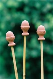 Cane Topper set - Terracotta