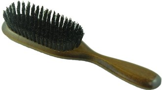 Hair Brush Slim Oval Dark
