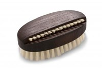 Nail Brush, Oval - Thermowood