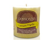 Lemon Myrtle Pillar candle