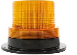 LV0604 - Amber Strobe With Fixed Mount Base