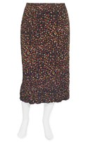 SALE - Kathleen Berney - spot on straight skirt - final clearance