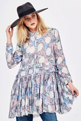 SALE - Cooper -  battle of the floral sea dress