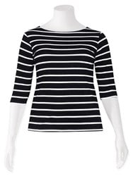 FINAL SALE - Weyre - stripe boat top