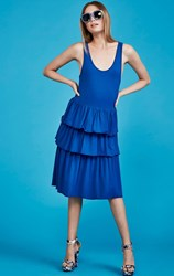 SALE - Curate by Trelise Cooper - blue layer cake dress