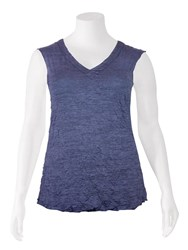 SALE - Kathleen Berney - wide shoulder v band cami