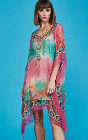 SALE - Curate by Trelise Cooper - pretty in pink kaftan