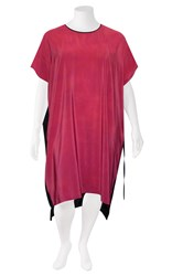 SALE - VALE and WARD - raspberry fredricke crepe dress - final clearance