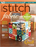 Stitch magazine 1 year subscription