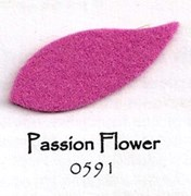 011 50/50 Bamboo Rayon Felt - Passion Flower