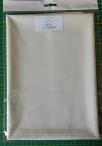 Kona Cotton Solids - Snow - half metre pieces