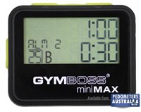Gymboss mini MAX Interval Timer Black Yellow