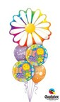 Delightful Daisy Hope you feeling better Balloon Bouquet