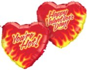 You're Hot - Happy Valentine's Day! (Balloon-In-A-Box)