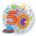 50 Brilliant Stars Bubble Balloon