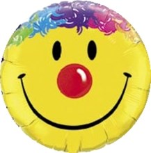 Yellow Smiley Face  (Balloon-In-A-Box)