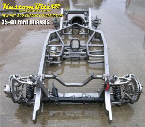Ford Hot Rod Chassis Construction 1935-40 New Reproduction