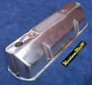 Holden V8 5.0 Alloy Rocker Covers suit later VN style heads -  Pro-Street Panel Tops Polished