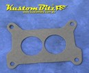 Carb Gasket Holley Style paper gasket - Square bore 2 Barrel 2 hole