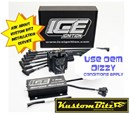 Ford Crossflow 6 Cyl ICE Ignition Kit - High Energy Ignition system - Street Series 7 Amp Vacuum Advance 7640MV