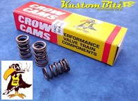 Ford 289 302 351 Windsor V8 Valve Springs - Crow Cams Performance Spring with inner Damper 120lbs [CC-7736]
