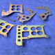 Throttle Cable Carby Brackets
