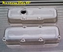 Holden Commodore V6 rocker covers - Ecotec L67 engine - RAW MILLED - Tall