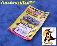 """Collets Single Groove 7 degree 0.343"""" valve stem - suit V8 Holden & Chevy engines - Crow Cams 11701 - 16 Pack 8 Cyl"""