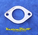 Exhaust Flange Plate 2 bolt 2 inch 10mm thick ~ Stainless Steel