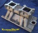 Holden 253 308 Tunnel Ram intake manifold - suits early heads ~ not VN heads