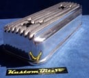Holden Gemini Valve Cover Finned - Polished