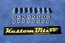 Holden 6 Cyl Bolt Kit 186 & 202 - Valve Cover Standard Tin, bolts Only [Silverz]