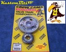 Holden six Timing gears 186 and 202 - Square Cut Gears [noisey] Multiple keyed