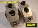 Yella Terra Ford 5.0, 5.8 Litre 289, 302, 351 Windsor Roller Rockers with AFR or Edelbrock heads - Platinum Race series 1.65:1, Twin Shaft Type, 5/16 Bolt on Adjustable YT6611