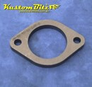 Exhaust Flange Plate 2 bolt 2 1/4  inch 10mm thick ~ Mild Steel
