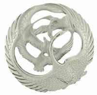 NEW Beautiful Circular Children Of Lir Brooch,Children of Lir brooch inspired by the favourite Celtic legend