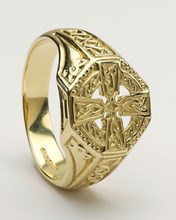 ID225 - Celtic Cross Ring