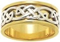 ID308 StrThis grand men's closed weave ring represents attributes that fuse determination, vigour and power together, promoting ever-increasing success.ength -This grand men's closed weave ring represents attributes that fuse determination,