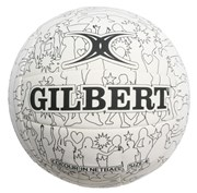 Colour-in netball