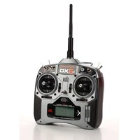 SPM66001E Spektrum DX6i transmitter w/AR6210 receiver (no servos) Mode 1, dry set