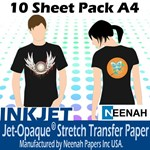 Jet Pro Opaque Darkwear Paper              A4 10 Pack