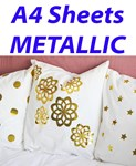 A4 Sheets METALLIC & HOLOGRAPHIC Vivid Flex Heat Transfer Vinyl