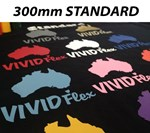 STANDARD 300mm Vivid Flex Heat Transfer Vinyl per metre - Copy