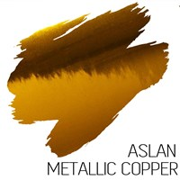 Copper  Metallic Adhesive Vinyl A4 sheets