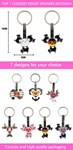 Fidget Spinner Keyrings-7 designs to choose from!