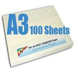 Sublimation Paper A3 size - 100 pack