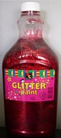 Glitter Paint RED (2 litre)