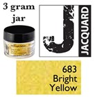 Pearl Ex Mica Powdered Pigments - 3g bottles - BRIGHT YELLOW 683