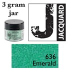 Pearl Ex Mica Powdered Pigments - 3g bottles - EMERALD 636